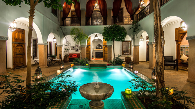 Riad for sale with swimming pool in the medina marrakech - Riad medina marrakech avec piscine ...