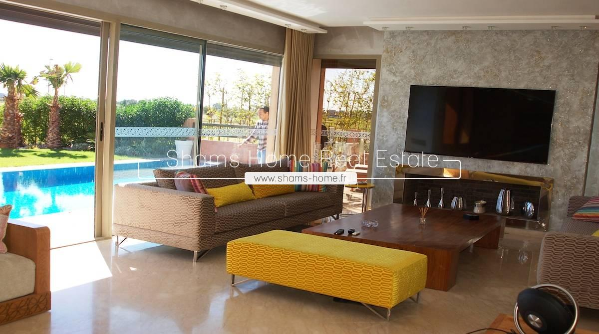 Luxury Villa On Golf For Rent In Marrakech