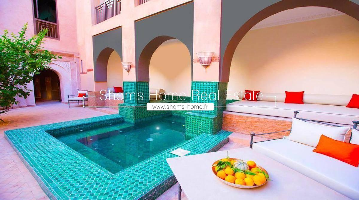 Luxury Riad for sale in Marrakech Medina