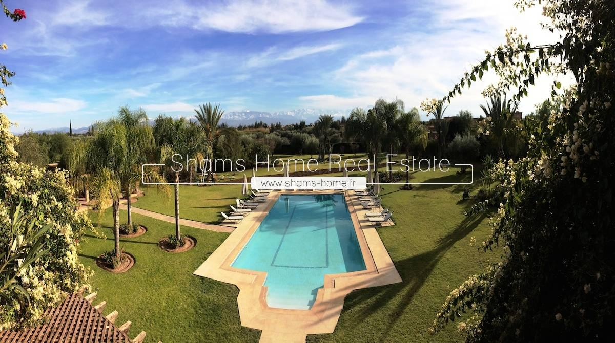 Luxury Villa for sale Marrakech Road of Ouarzazate