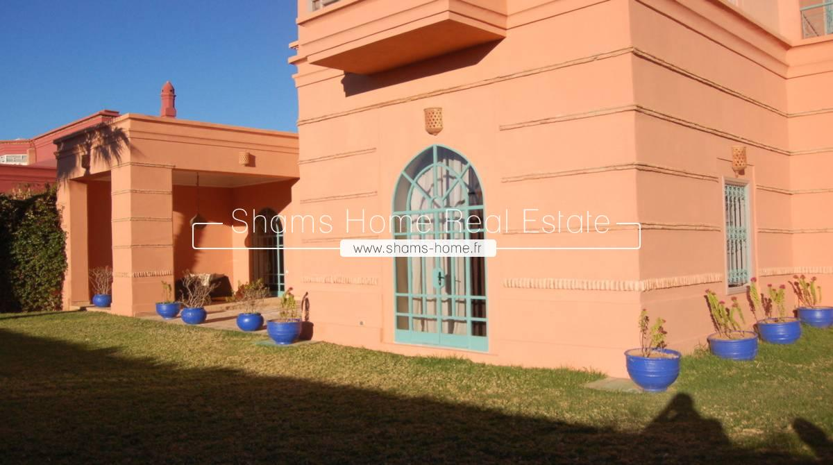 Long term rental Luxury Villa Marrakech Amelkis