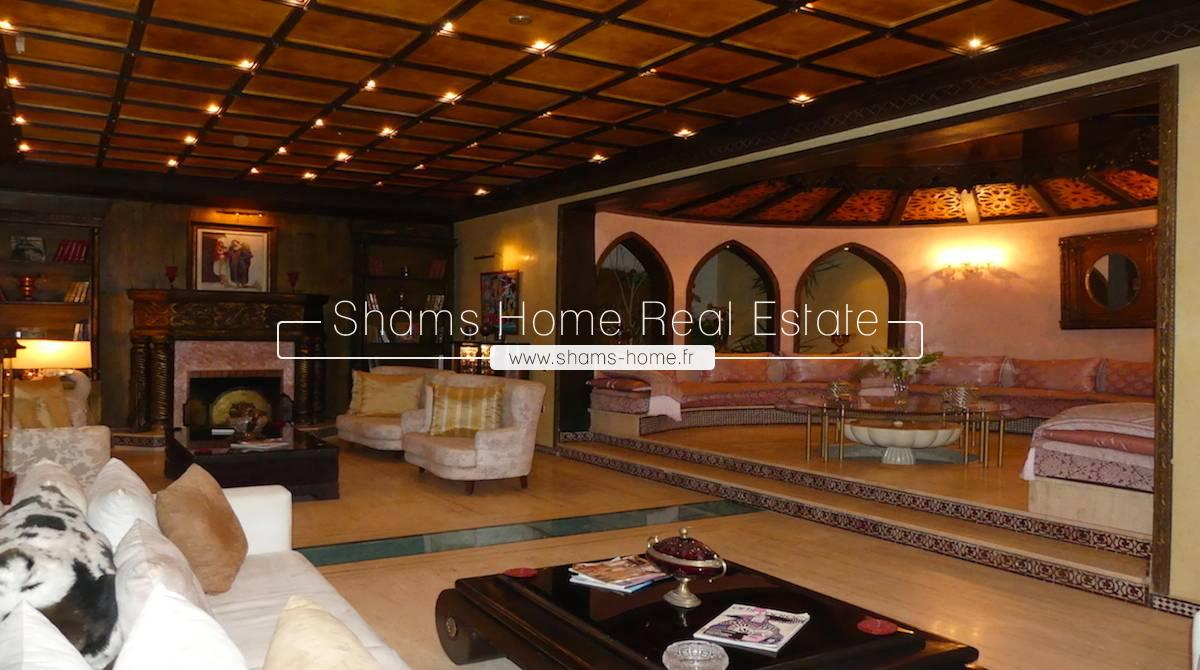 Prestigious Villa For Sale on Amelkis Golf in Marrakech