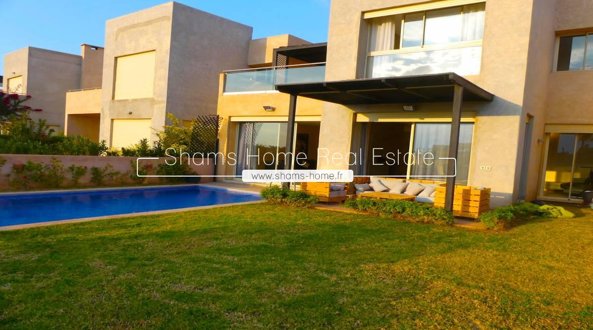 Splendid Villa for Long Term Rental on Golf in Marrakech