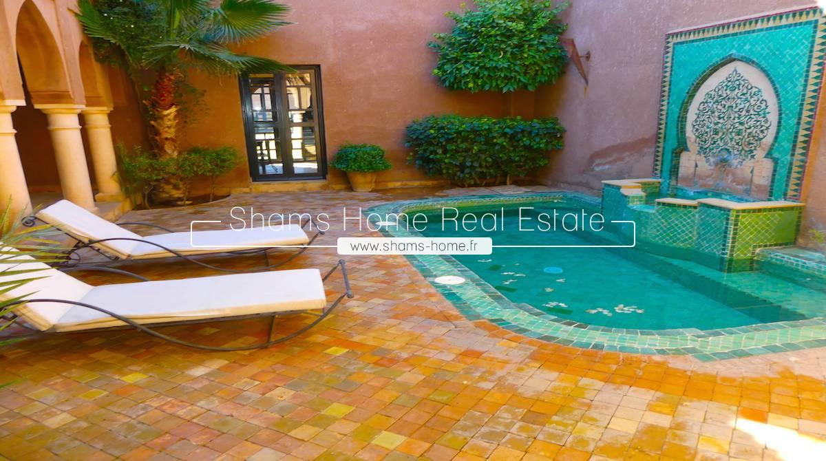 Luxury Villa for Rent in Palmeraie Marrakech