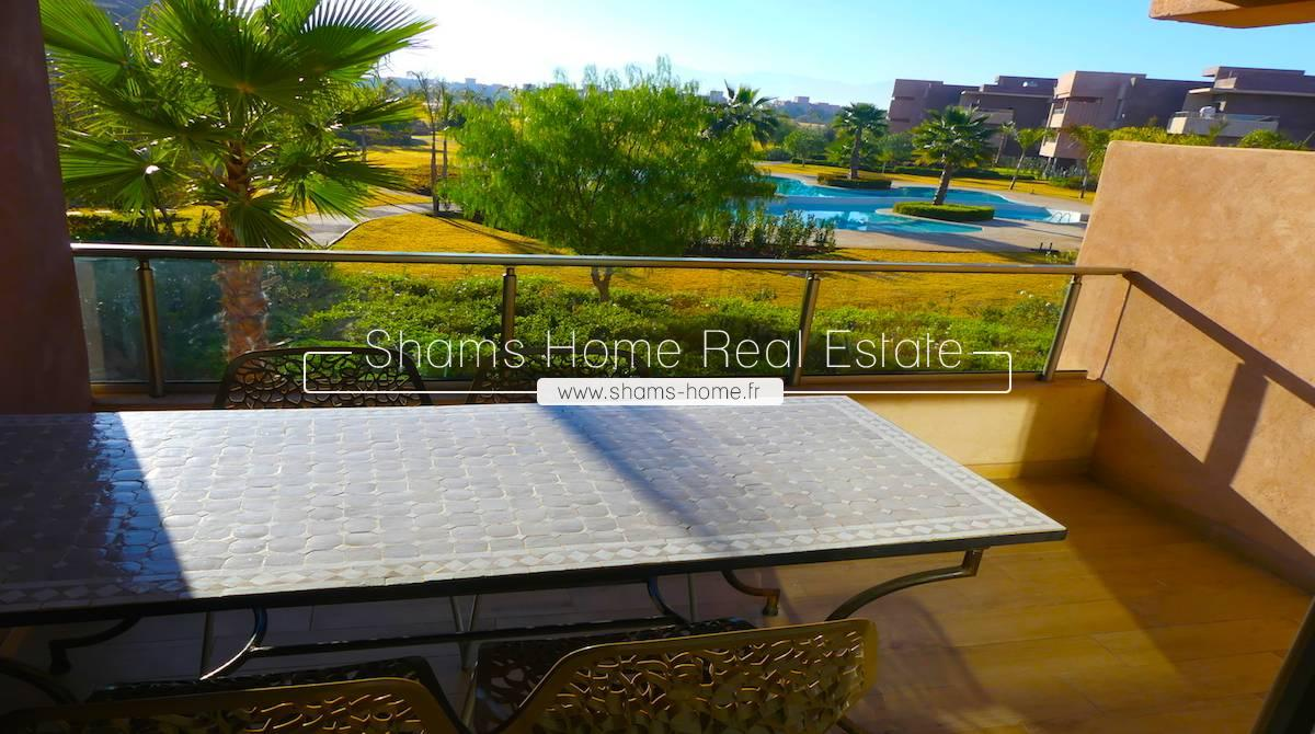 Apartment  For Rent in Prestigia Golf Marrakech