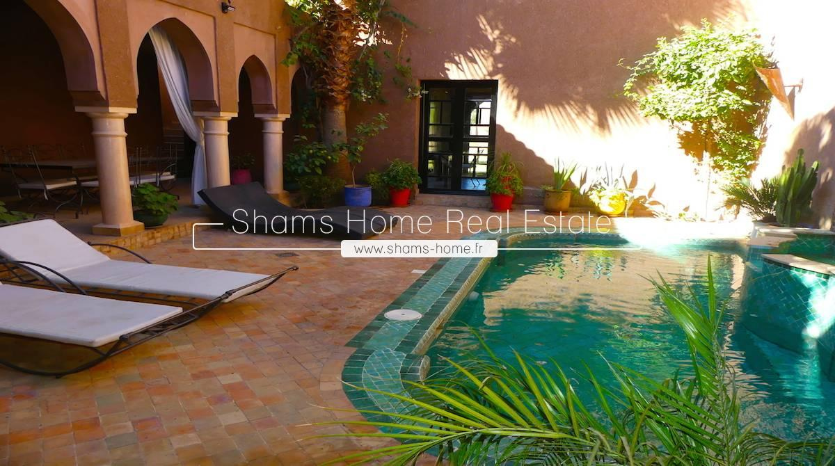Majestic Villa for Long Term Rental in La Palmeraie Marrakech