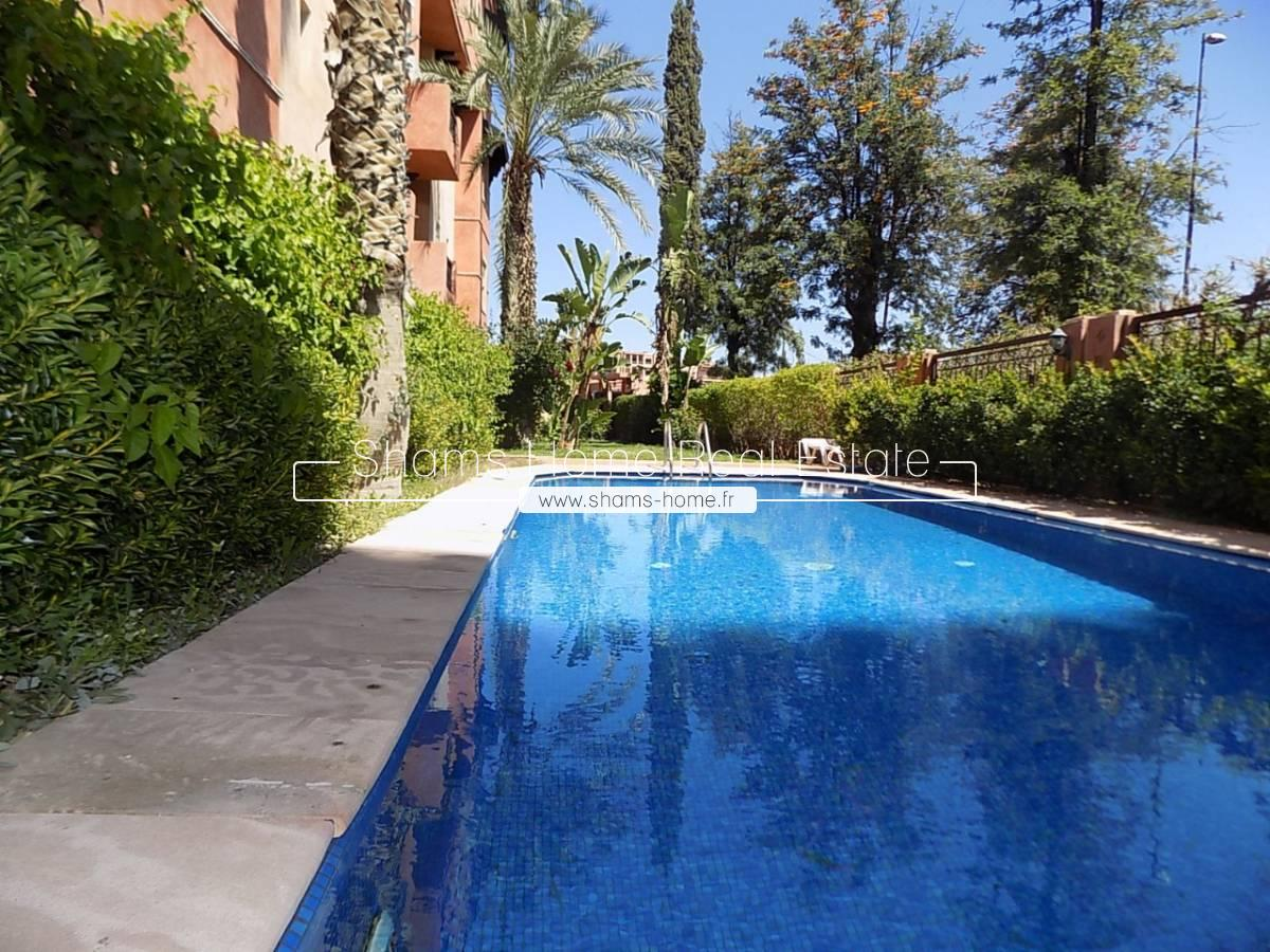 Apartment for Long Term Rental Hivernage Marrakech