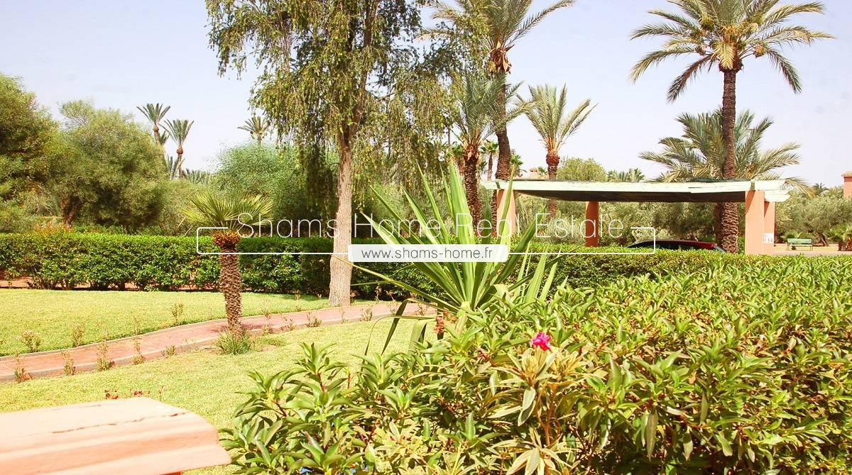 Apartment for Long Term Rental in the Palmeraie of Marrakech