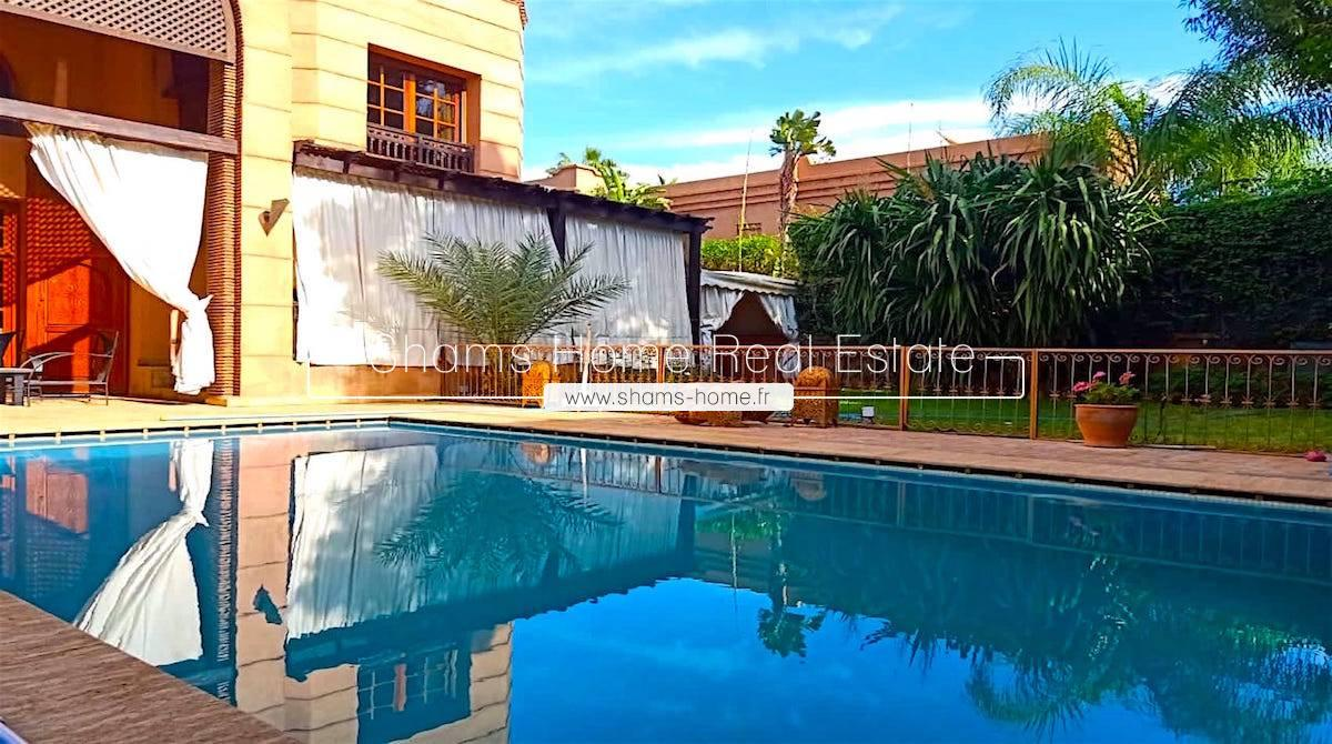Atypical Villa for Rent in Marrakech Amelkis Golf