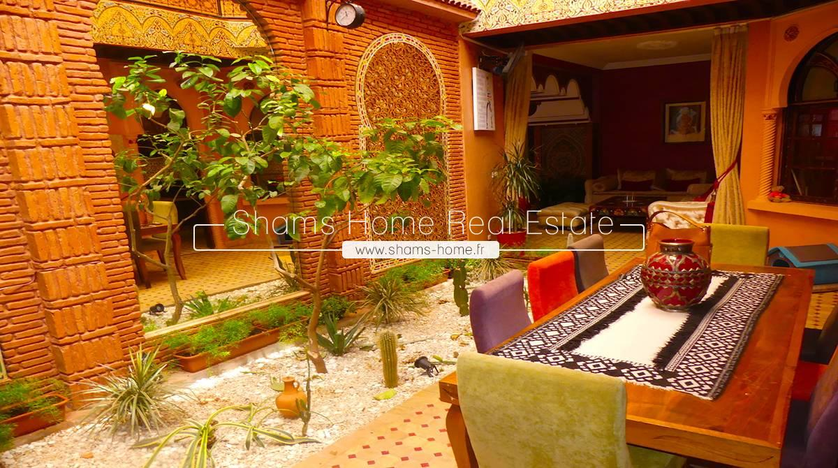 Beautiful Riad for Long Term Rental in Medina Marrakech
