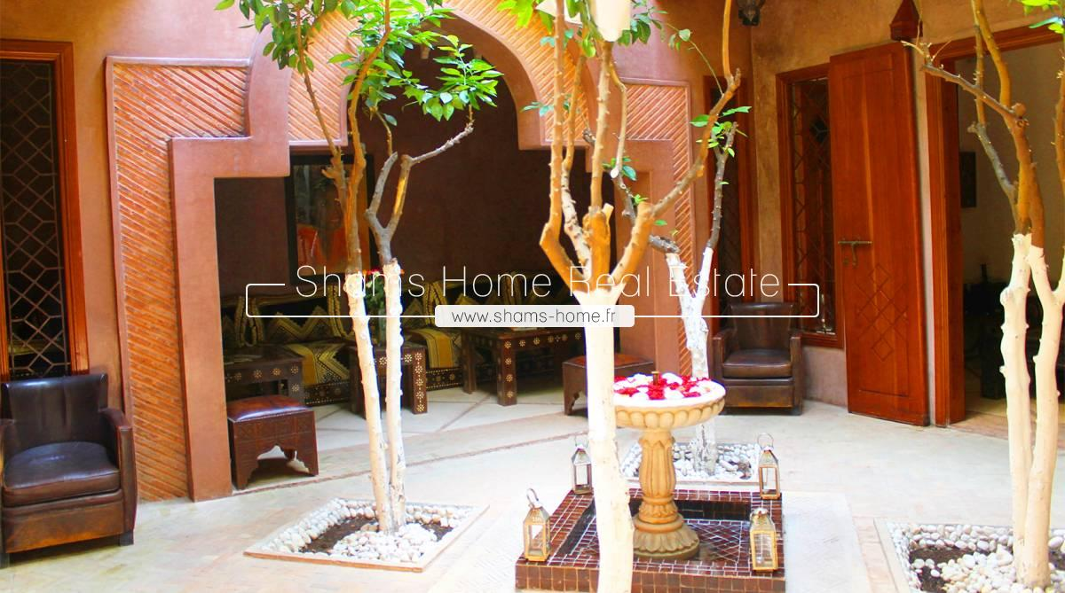 Charming Riad For Sale Marrakech Medina