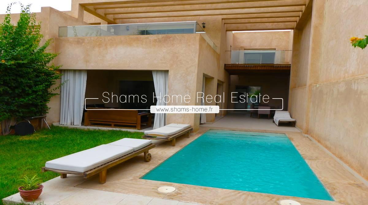 Contemporary Villa for Long Term Rental on Golf Marrakech