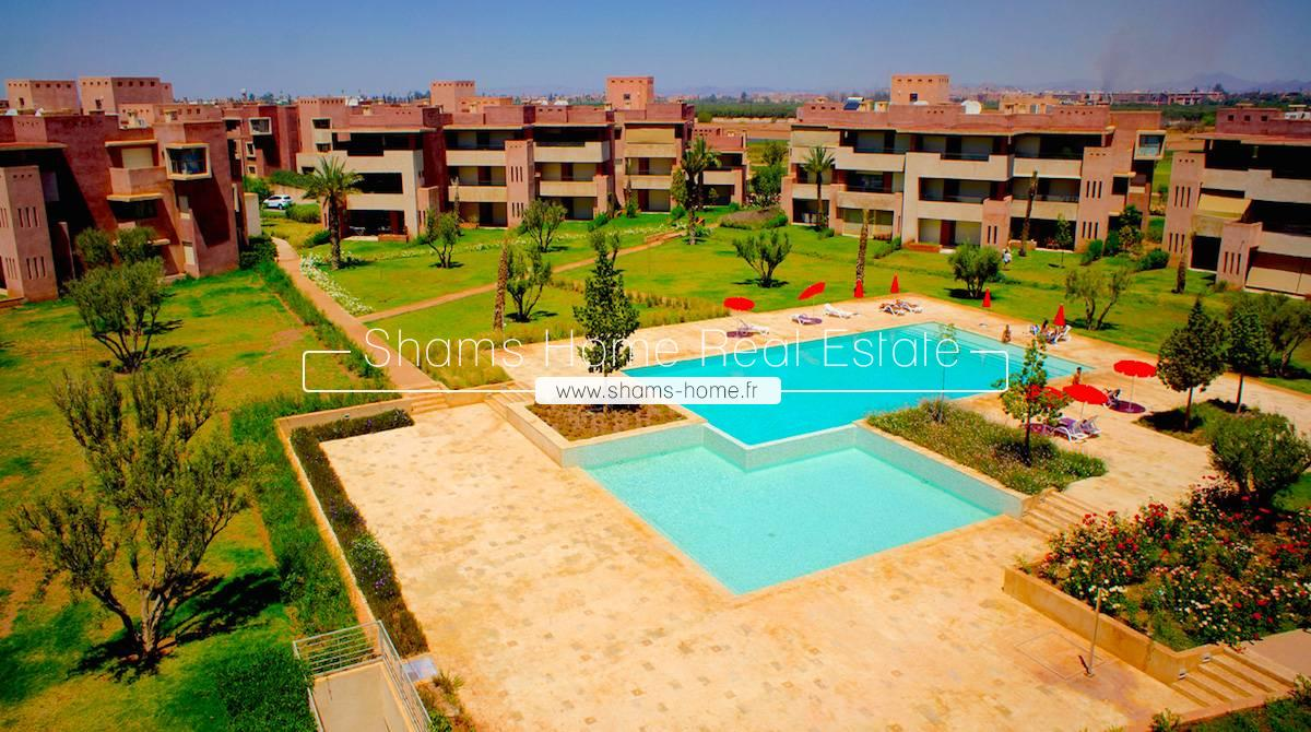 High Standing Apartment For Rent in Prestigia Golf Marrakech