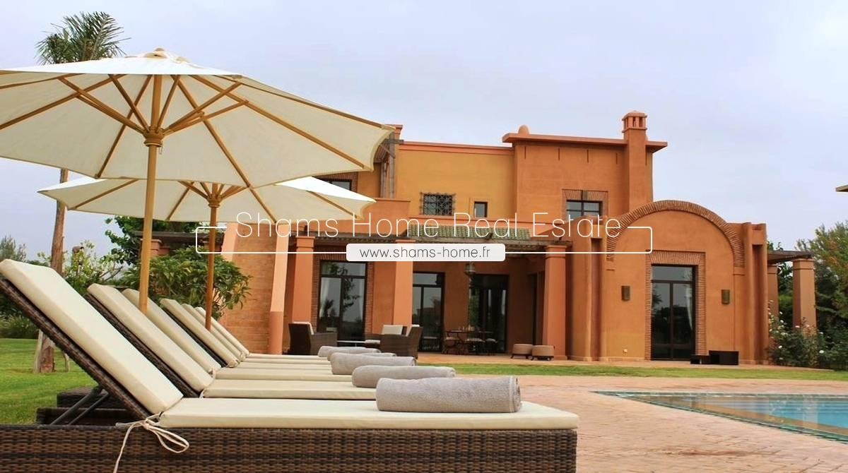 Atypical Villa For Rent On Golf Marrakech Road To Amizmiz