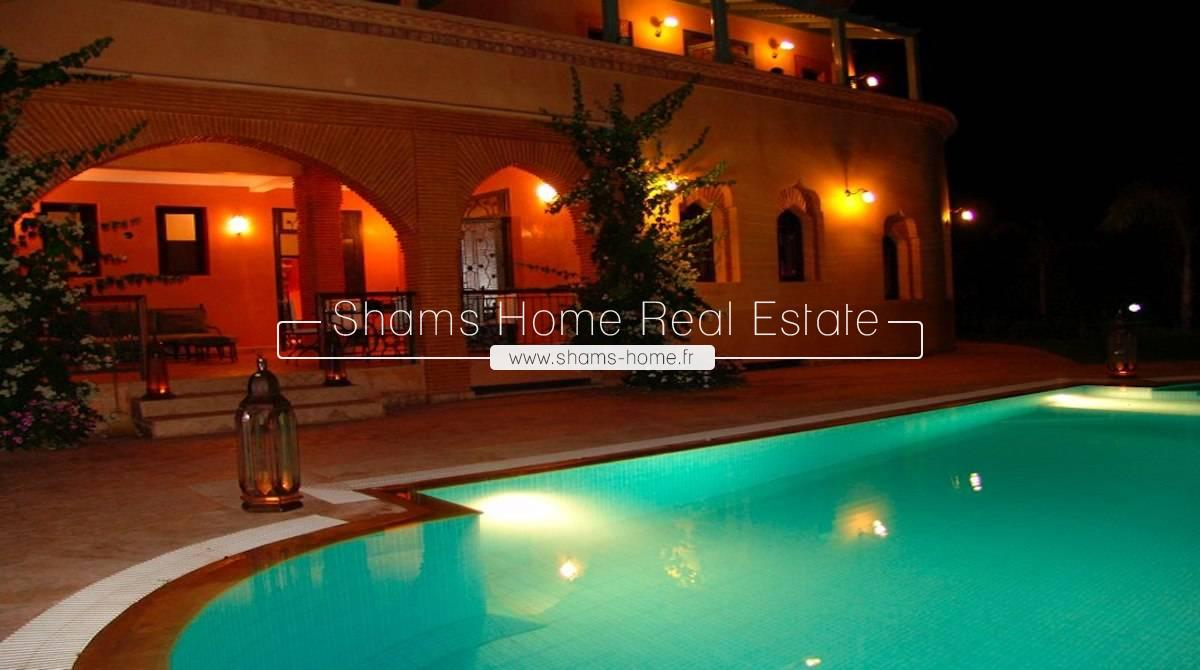 Lon Terrm Rental Luxury Villa Marrakech  Road to Fes