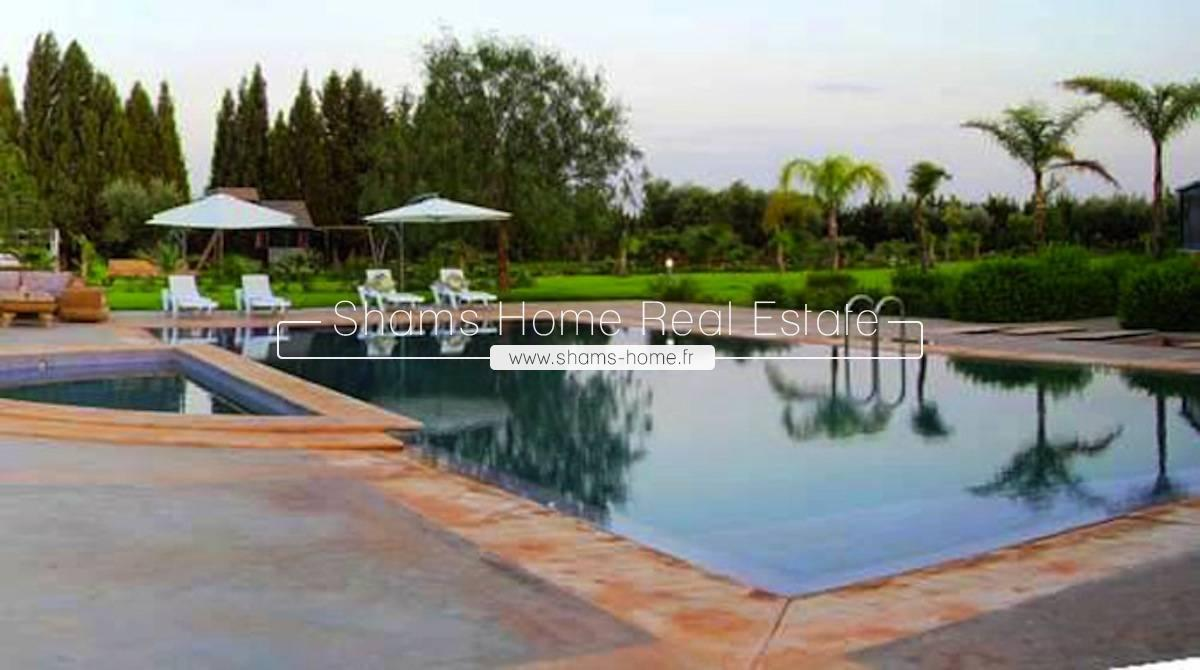 Long term rental Villa Fez Road Marrakech