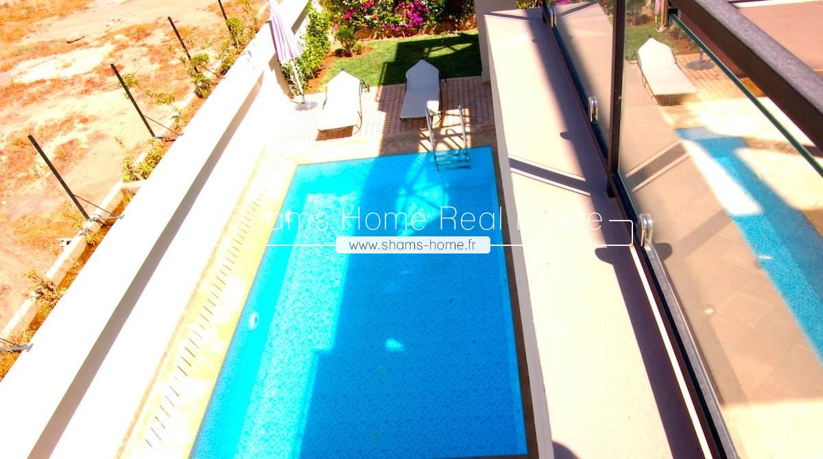 Long Term Rental Villa Marrakech Amelkis Golf