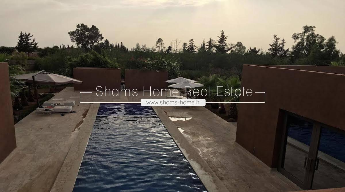 Long Term Rental Villa Marrakech Road to Ourika