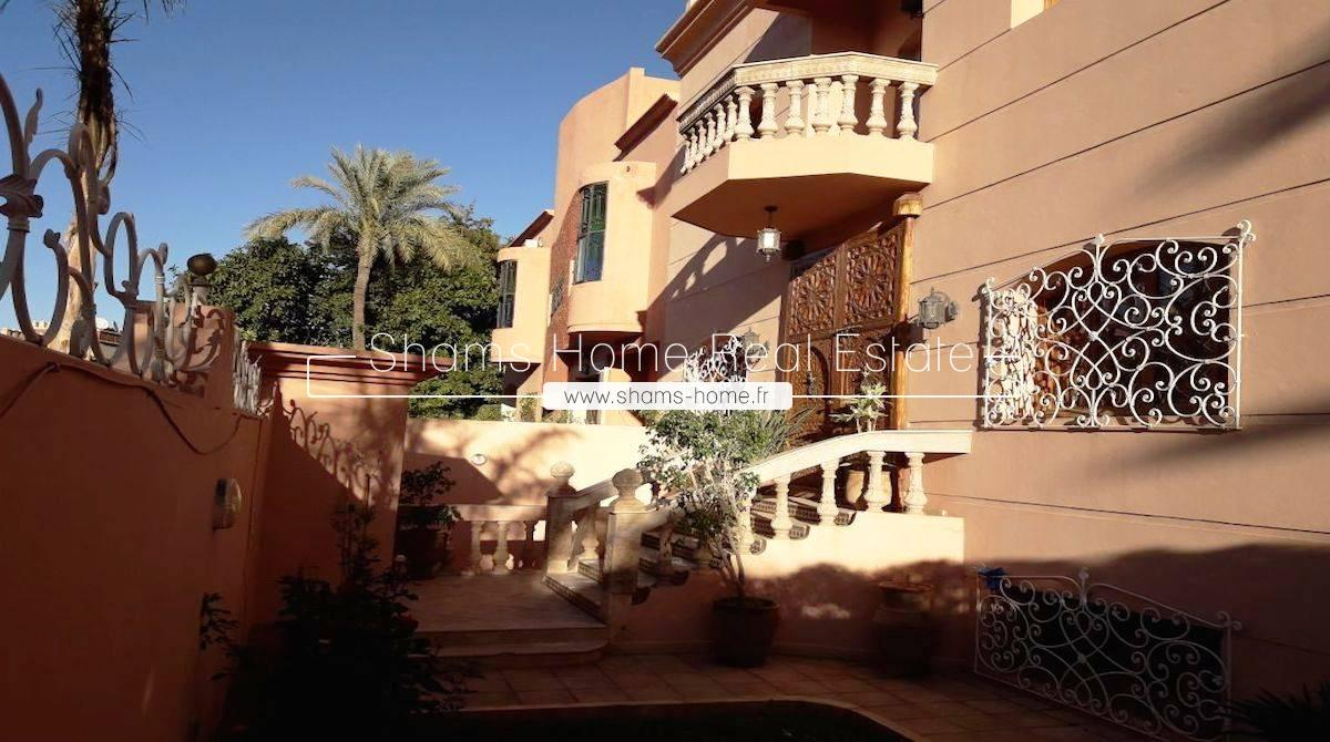 Long term rental Villa Marrakech Targa