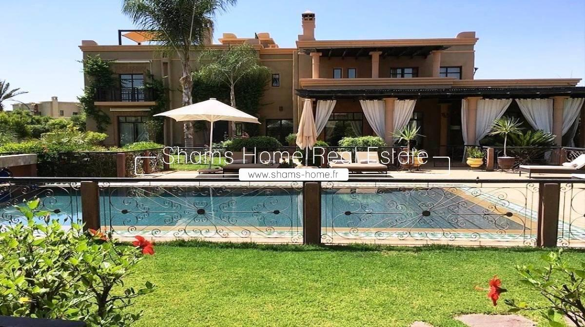 Long Term Rental Villa on the Golf Marrakech