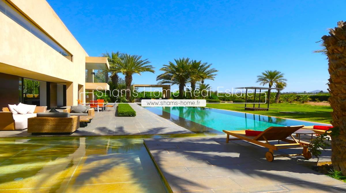Luxurious Modern Villa for Sale Marrakech Palmeraie
