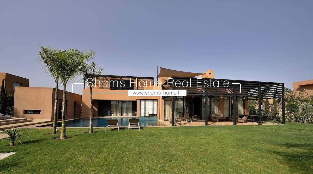 Luxurious Villa For Rent Front of Golf in Marrakech