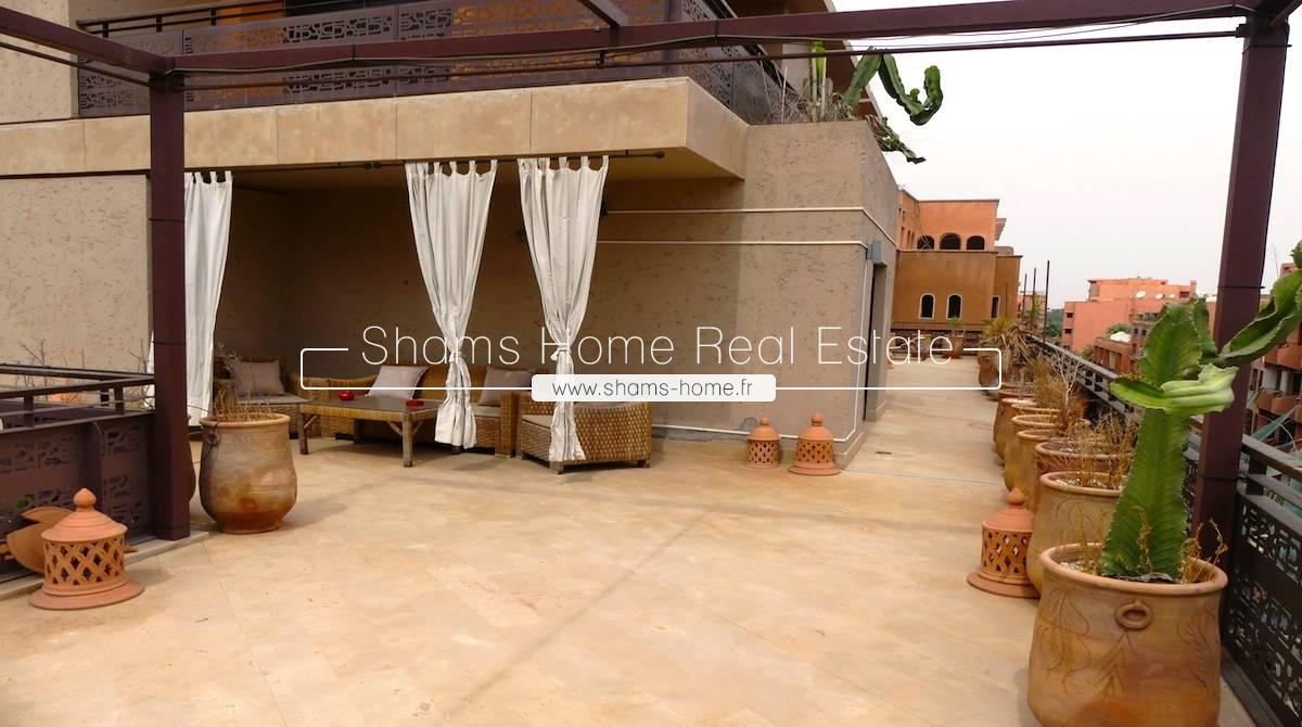 Long Term Rental Luxury Apartment in Gueliz Marrakech