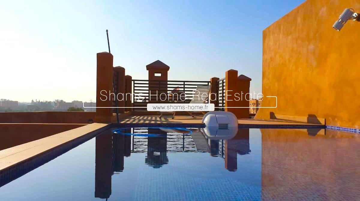 Luxury Apartment for Rent in Marrakech Hivernage