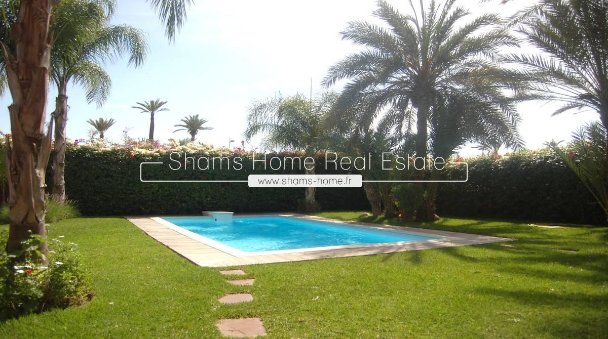 Luxury Villa For Rent Marrakech Palmeraie