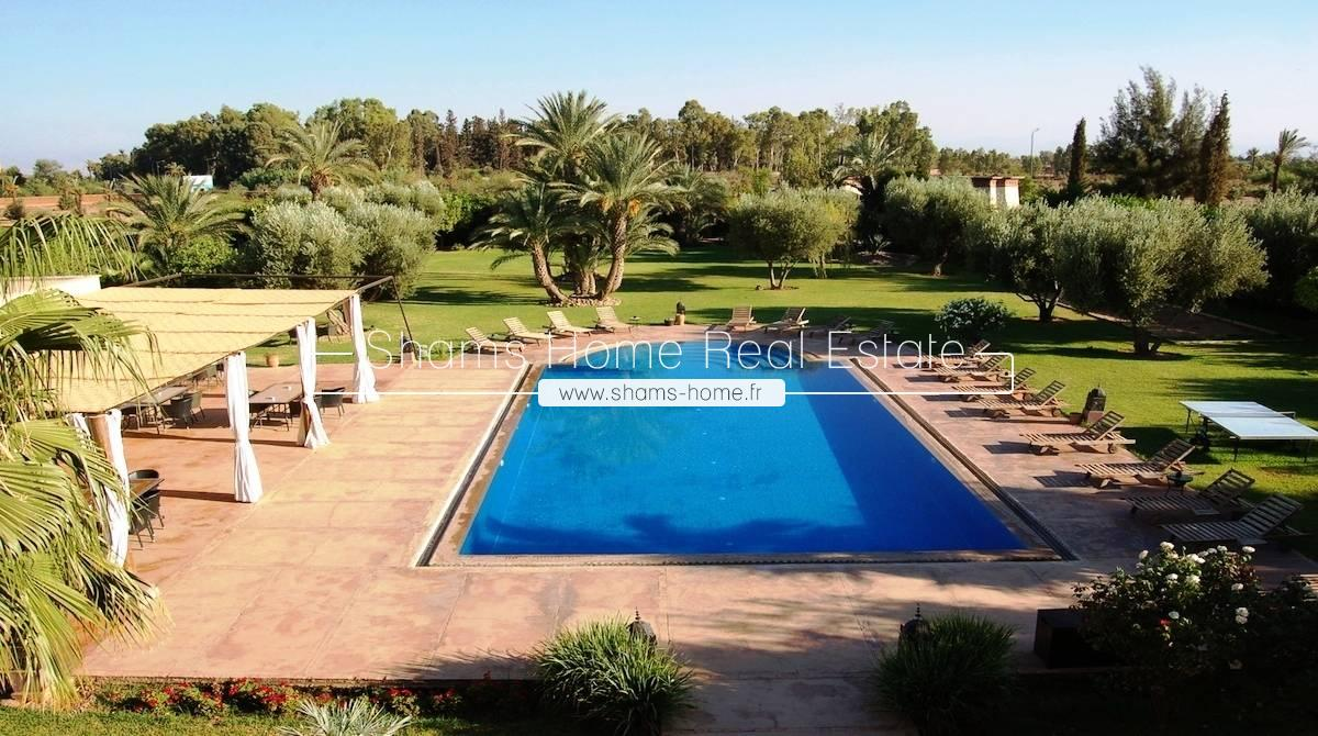 Luxury villa for Rent Management Marrakech Road Ouarzazate