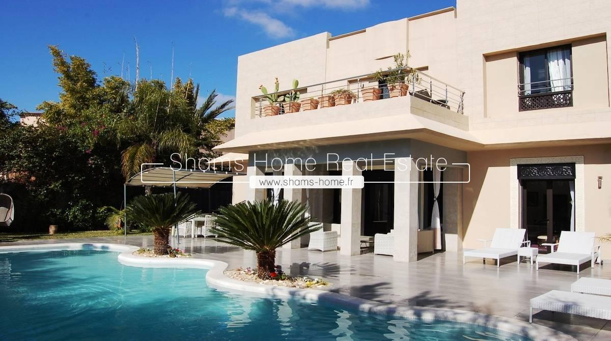 Long Term Rental Luxury Villa On Golf Marrakech
