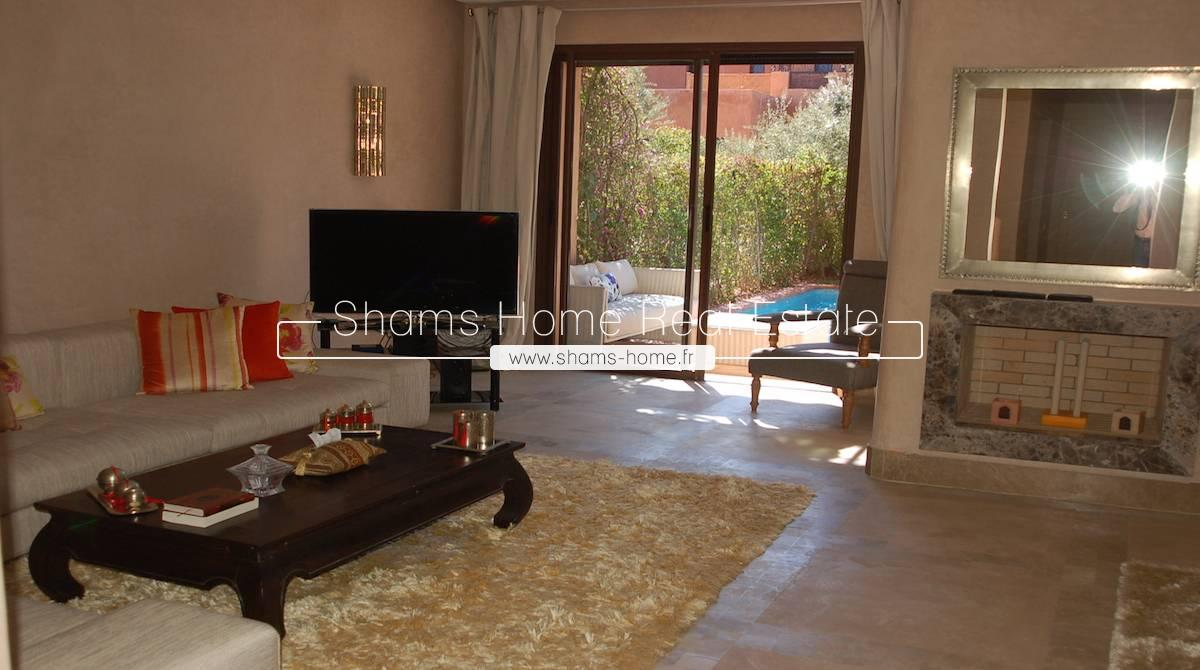 Luxury Villa For Renting On Golf Marrakech