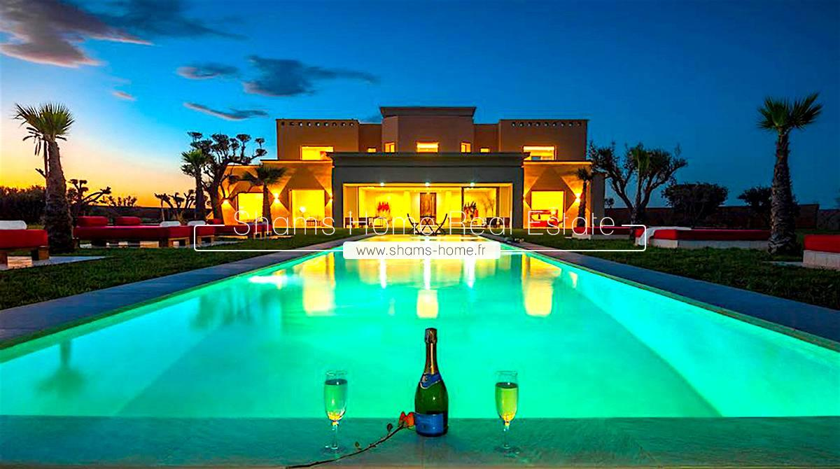 Luxury Villa For Sale in Marrakech Road to Ouarzazate