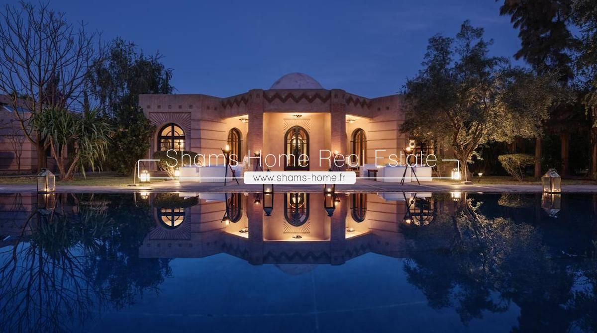 Luxury Guest House For Sale in Palmeraie Marrakech