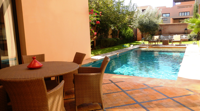Luxury Villa For Rent in Marrakech