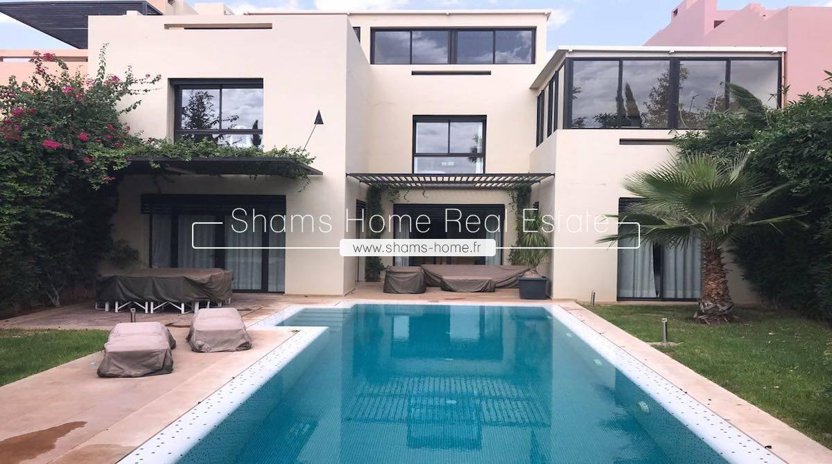 Splendid Villa for Long Term Rental on Golf Marrakech
