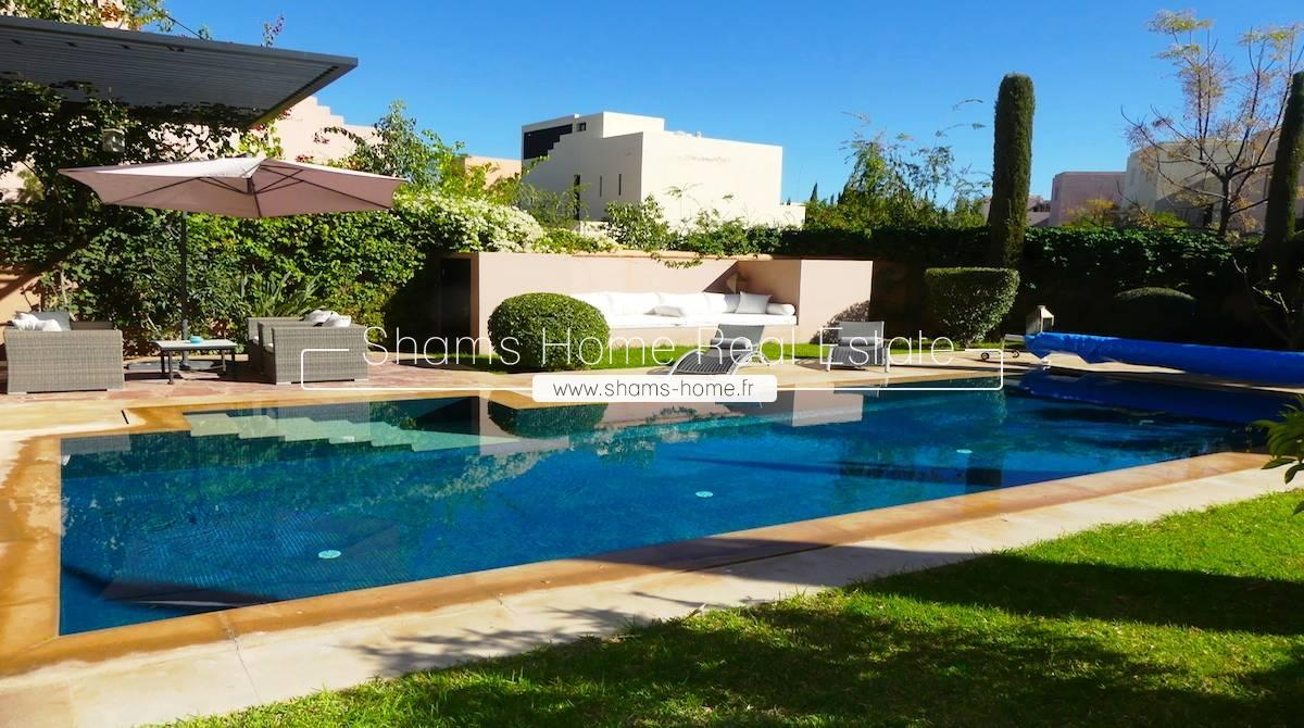 Splendid Villa For Long Term Rental on Golf Resort Marrakech