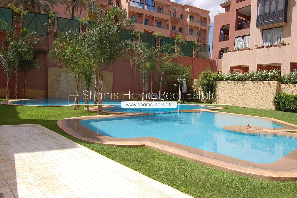 Standing Apartment for Long Term Rental Marrakech Guéliz