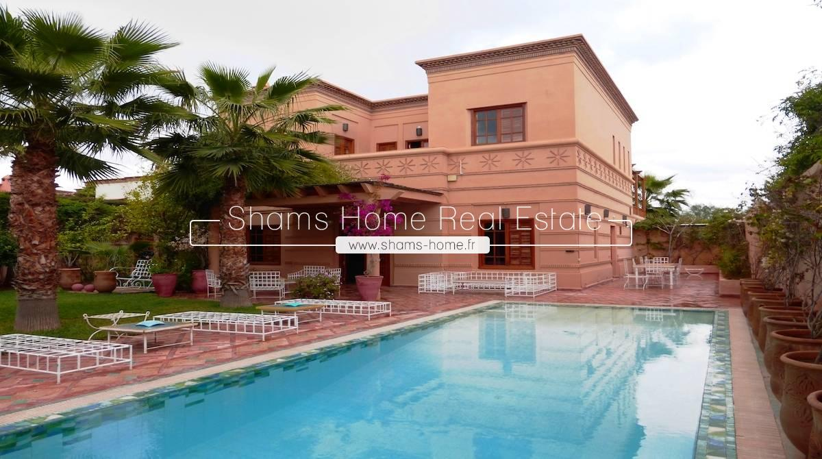 Atypic Villa for renting Amelkis Marrakech