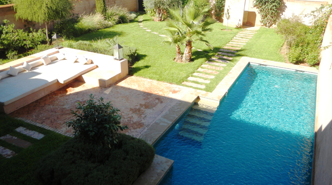 Long Term Rental Luxury Villa in Marrakech